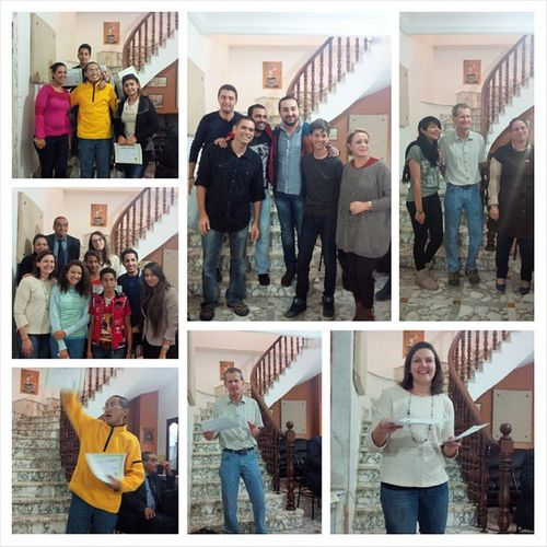 Congratulation party Family_place English_course Learnig_english
