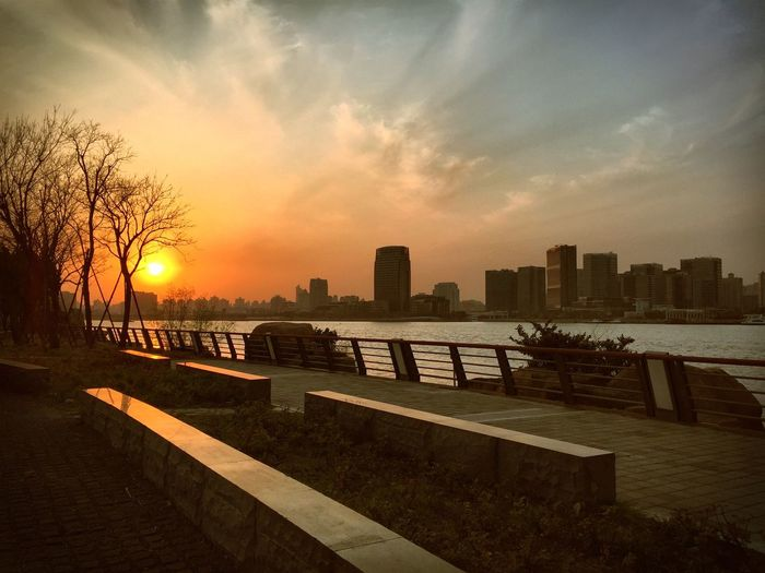 IPhoneography Sunset City
