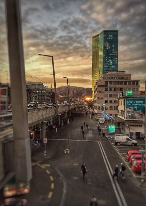 Prime Tower Morning Sunrise
