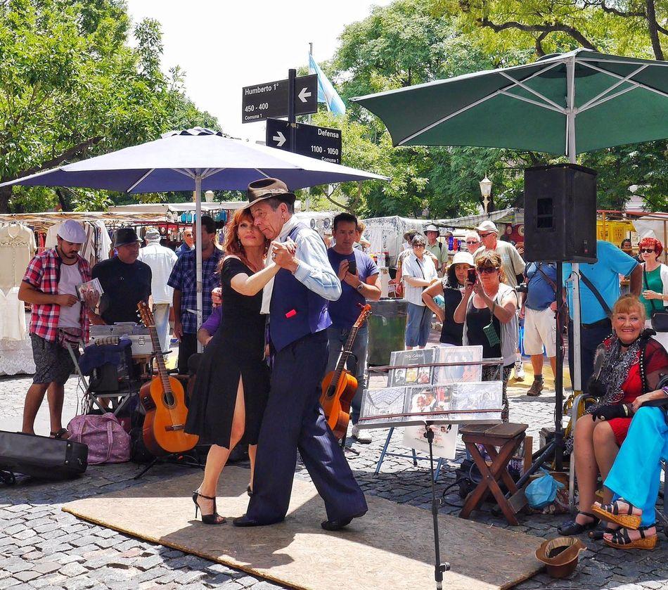 Tourist Enjoying The View The Tourist Showcase: February Tango Enjoying Life Plaza Dorrego https://youtu.be/T9Sdf176McE Buenos Aires, Argentina