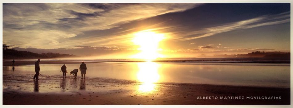 Sky Sun Nature Sea Tranquil Scene Sunlight Beauty In Nature Scenics Outdoors Beach Tranquility Landscape_Collection SPAIN Non-urban Scene Landscape IPhoneography Cantabriainfinita Cantabria Estaes_cantabria Good Atmosphere Panoramic Somo