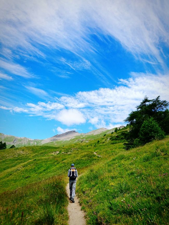 Randonnée dans le Queyras Mountains Sky And Clouds Hiking Summer Adventure Club Landscape Mountain View Landscape_Collection Summer2016 Hikingadventures French Alps EyeEm Best Shots The Essence Of Summer