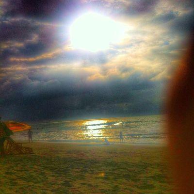 Sunshine Tonsupa Calentandomotores Tattyteamo Playaalmendro Atardecer