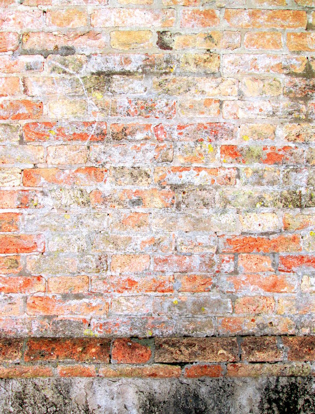 Weathered stained brick wall background Ancient Brick Wall ArchiTexture Backgrounds Brick Wall Brown Close Up Close-up Detail Full Frame Grunge Grungy Textures Medieval Brick Wall Mortar And Bricks Background Moulded Orange Pattern Red Scratched And Cracked Wall Textured  Textures And Surfaces Venice, Italy Wall Wall - Building Feature Weathered Wall Yellow