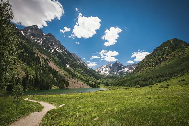 Maroon Bells Colorado Rocky Mountains Mountains Path In Nature Lake View Lake And Mountain Outdoor Photography Travel Photography Travel Destinations On An Adventure Nature Nature Photography
