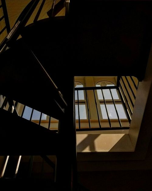 Staircase Steps And Staircases Steps Spiral Architecture Built Structure Low Angle View No People Spiral Staircase Day Indoors