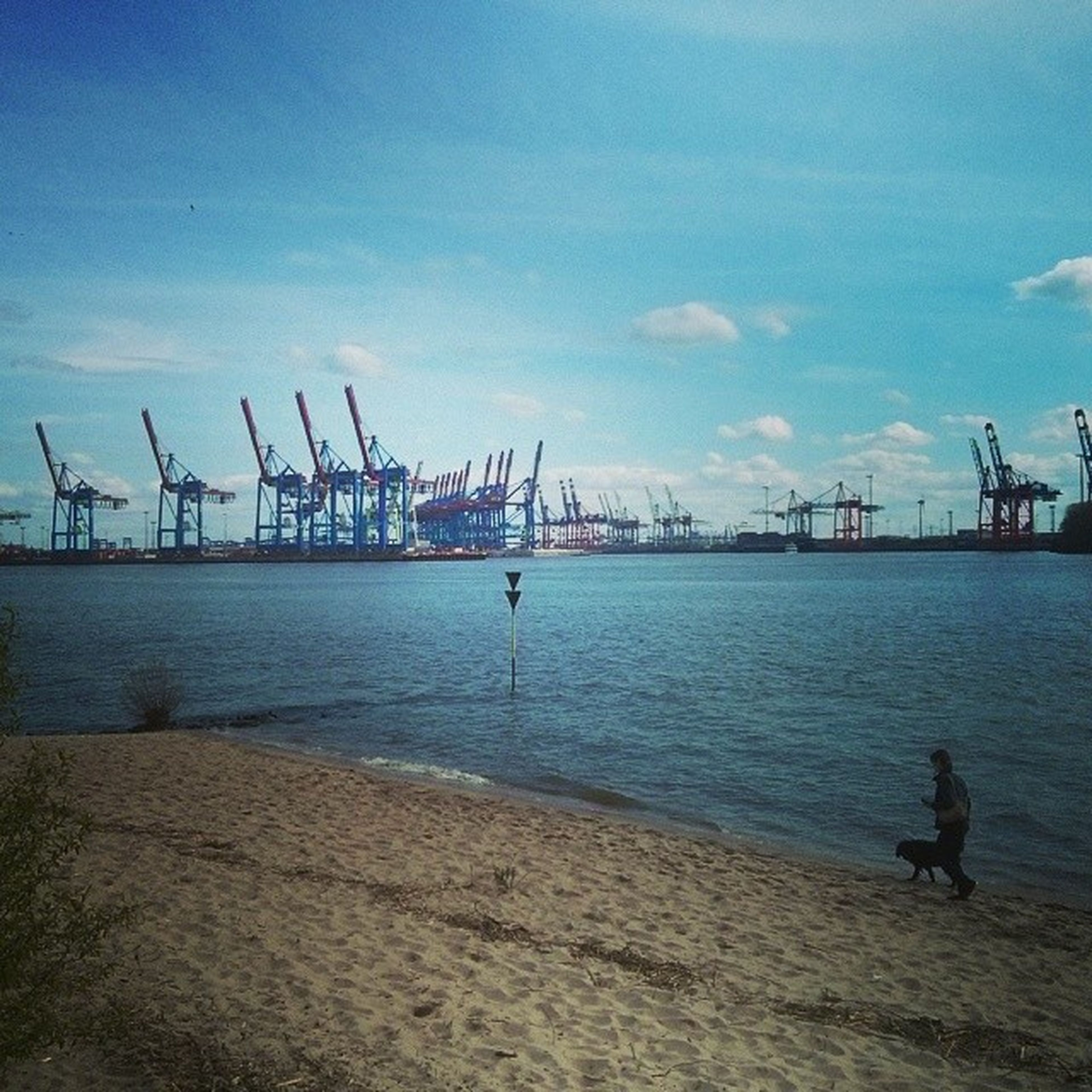 Hamburg Ichsitzeanderelbe Elbe