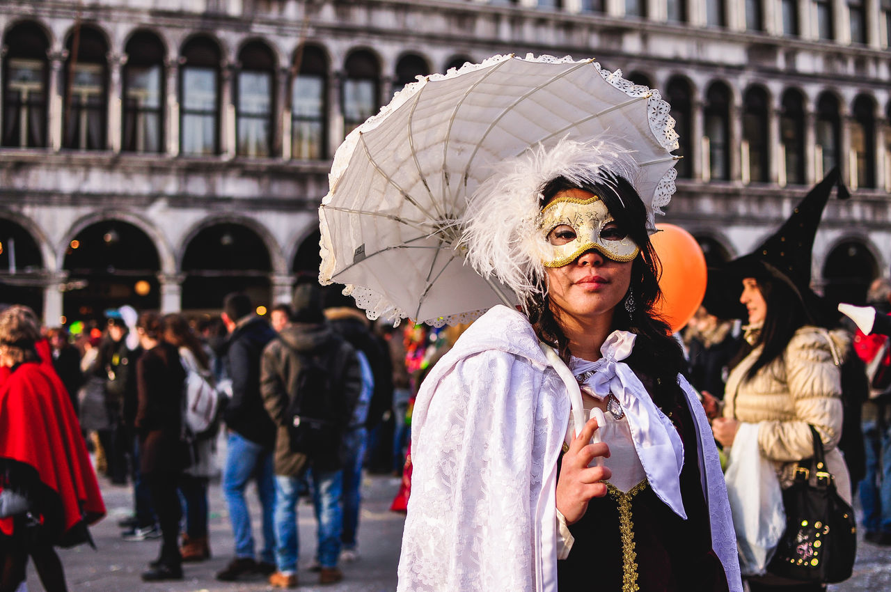 Carnival Carnival Crowds And Details Carnival Mask Carnival Of Venice Carnival Parade Carnival Party Carnival Spirit Celebration Close Up Portrait Enjoyment Event Fun Italy MAS Mask Mask - Disguise Masks Masquarade Masque Masquerade Phantom Portrait Venice Venice, Italy Women Women Around The World
