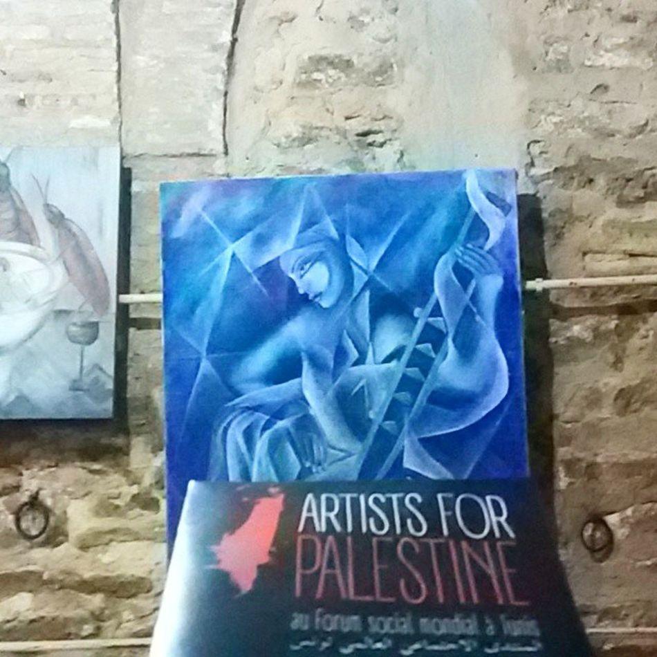 Art Palestine Forum_Social_mondial FSM WSF Tunisia Igertunisia حرية الفن :)