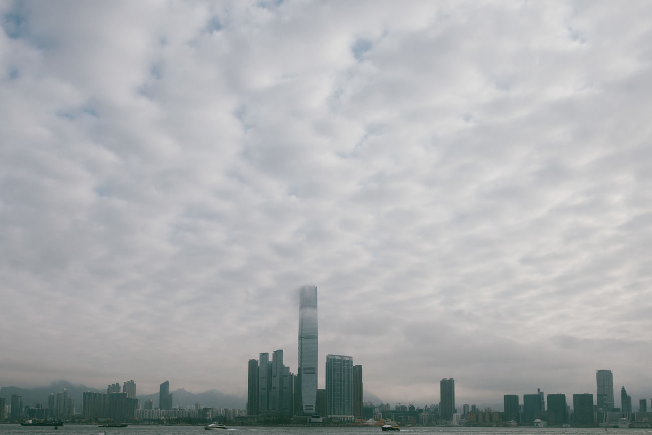 Architecture Built Structure City Day Hong Kong HongKong No People Sky Sky And Clouds Town Urban Skyline