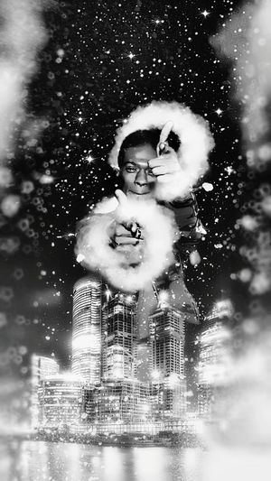 snow🙄 Snow Dj Jon Daniels Toronto Christmas Tree Boxes Christmas 2018 City Mixtape Flame Smoke Clouds And Sky EyeEmNewHere EyeEm Selects New Milk One Person People Child Portrait Human Face Headshot Water Young Adult Human Body Part Childhood Children Only Adult Day Outdoors Tree One Boy Only Pixelated