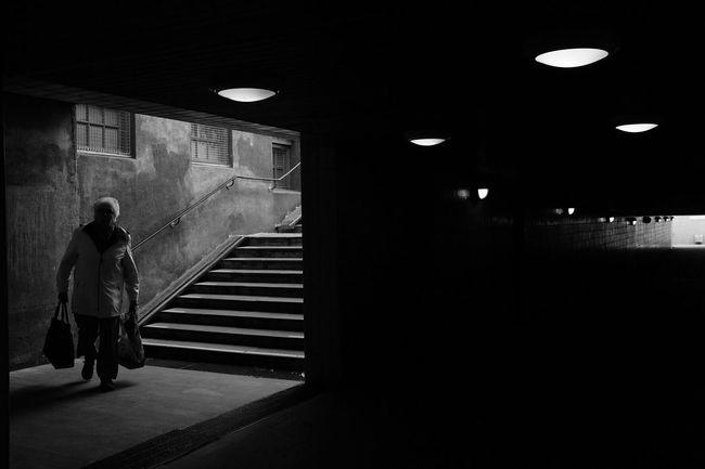 Blackandwhite Monochrome Bw_collection EyeEm Best Shots - Black + White Streetphotography Darkness And Light