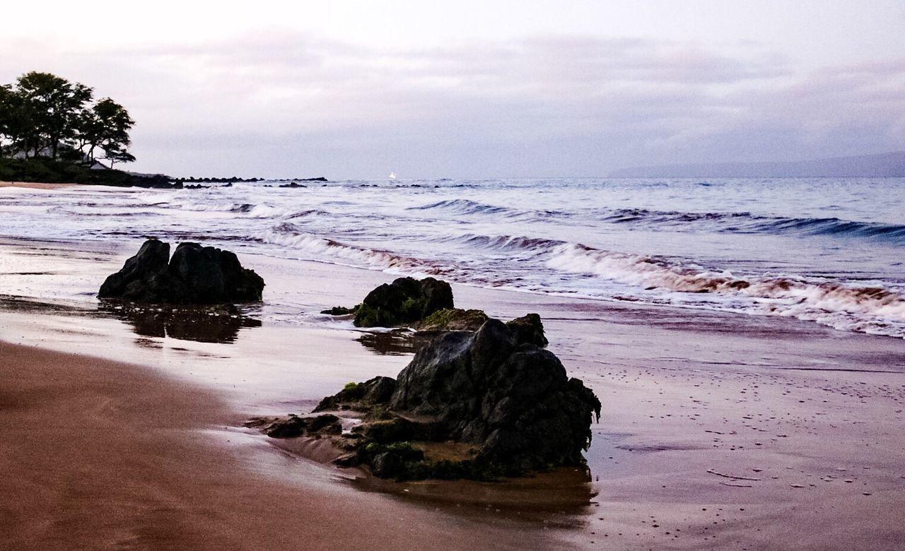 Sea Rock - Object Scenics Beach Nature Tranquil Scene Idyllic Tranquility Beauty In Nature Outdoors Sand Sky No People Landscape Day Rock Formation Tranquility Beauty In Nature Nature Water Cloud - Sky Hawaii Maui Maui Hawaii Mauiphotography