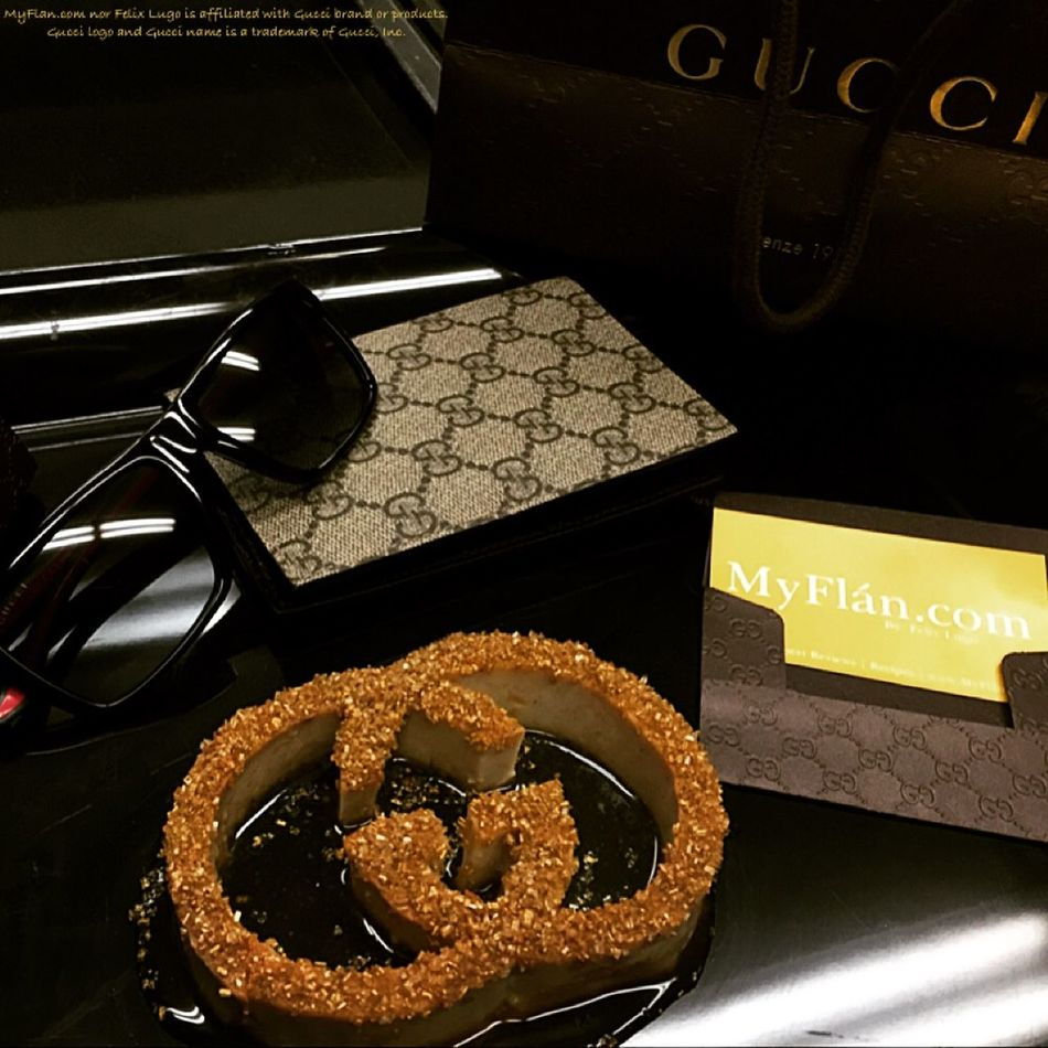 GUCCI Gucci Sunglasses Bakery Flan Desserts Myflan Foodporn Food Dessert Pastry