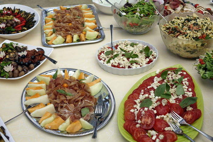 Antipasti Bowl Buffet Catering Food Choice Close-up Day Food Food And Drink Freshness Healthy Eating High Angle View Indoors  Italian Food Meat No People Plate Ready-to-eat Salad Serving Size Table Variation Vegetable