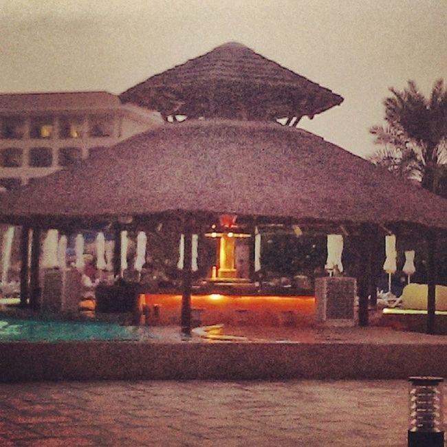 Bar Swimming Pool UAE , Fujairah Hotel
