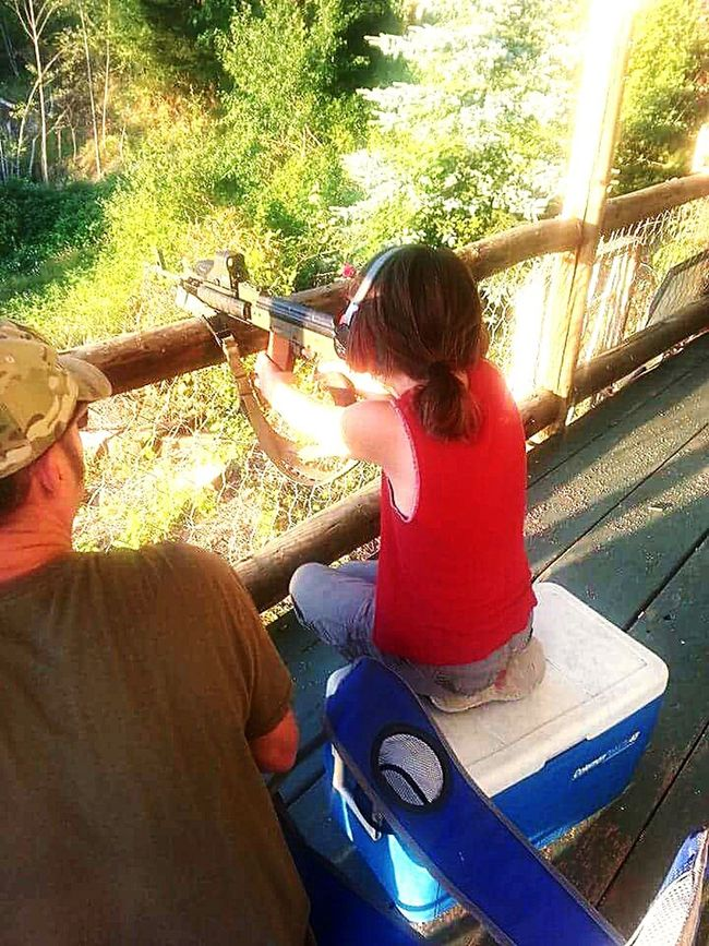 Youth Of Today Outdoors AK47 Self-discipline Good Parenting