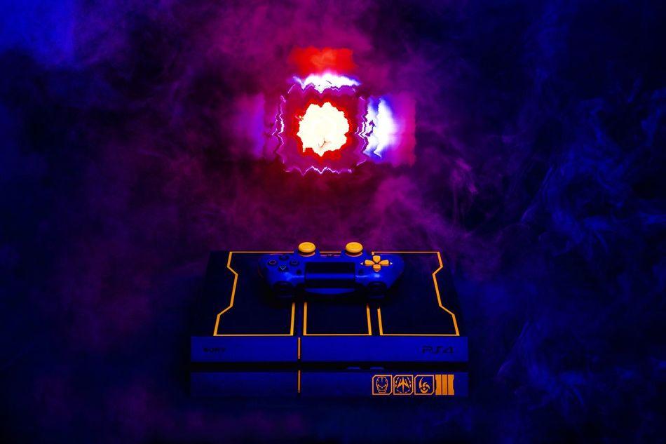 PS4 Gaming Console Cod3 CallOfDuty Callofdutyadvancedwarfare Callofdutyghost CallOfDuty4 Limitededition Video Gaming Smoking Smoke