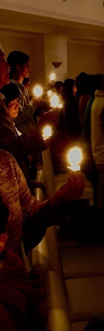 Illuminated Indoors  Flame Real People Human Hand Celebration Burning