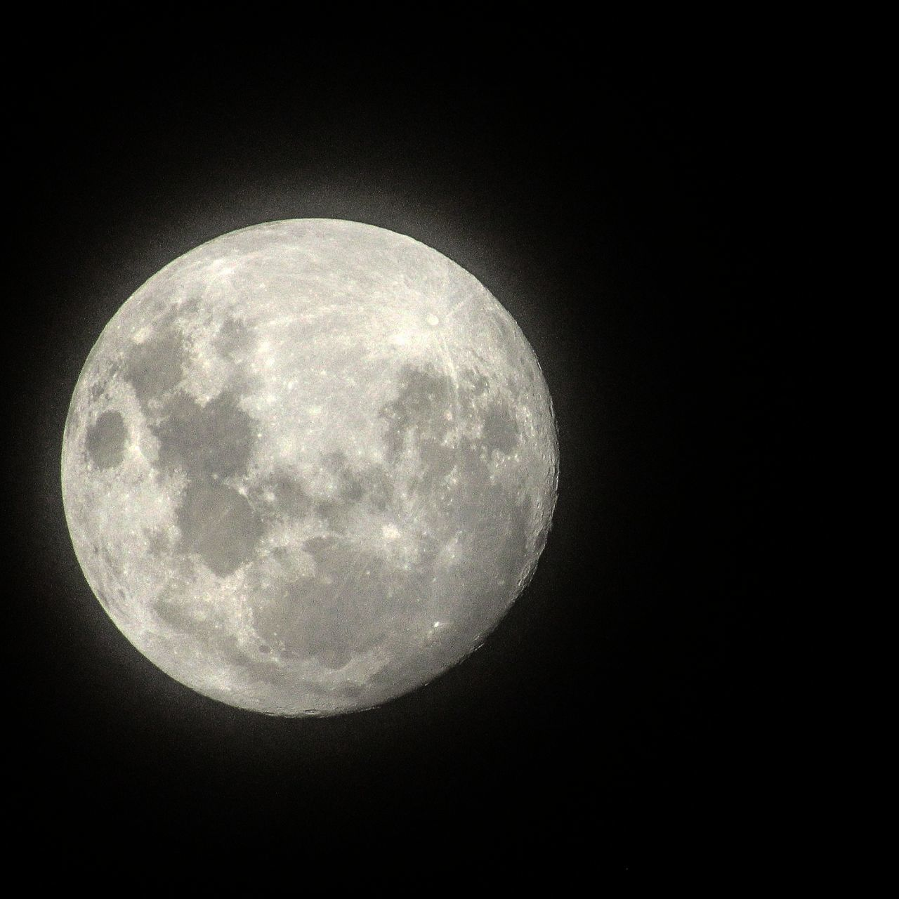 moon, night, moon surface, astronomy, planetary moon, beauty in nature, nature, circle, majestic, tranquility, low angle view, scenics, copy space, clear sky, space exploration, tranquil scene, no people, sky, outdoors, space, close-up