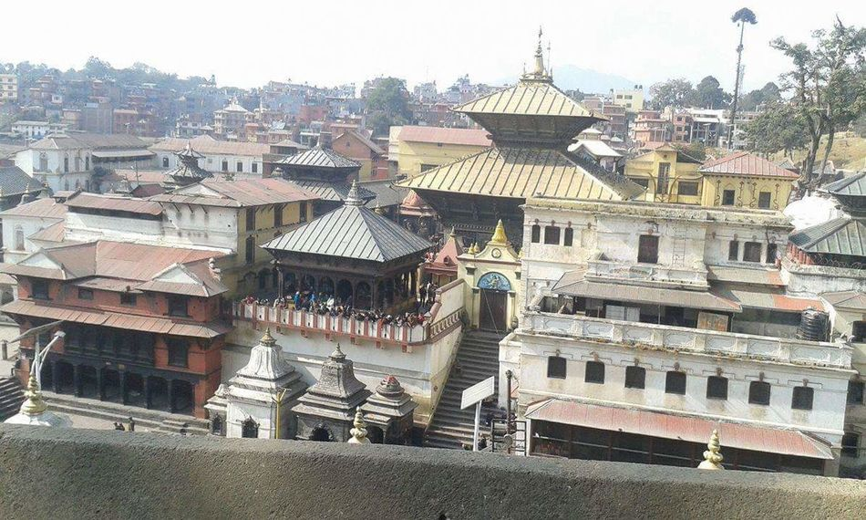 World heritage listed temple pasupati
