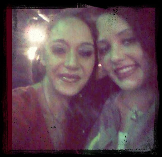 With my homegirl.... Celina Bender Getting Our Drink On! @the Strip Club Single Mothers Club