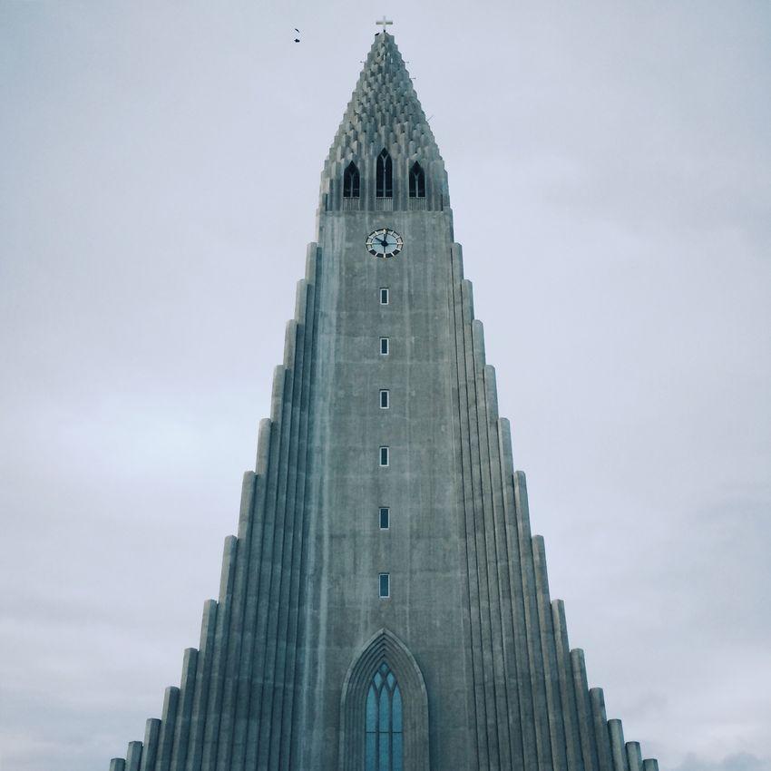 Iceland Church Reykjavik Hallgrìmskirkja Hallgrimskirche Kirche