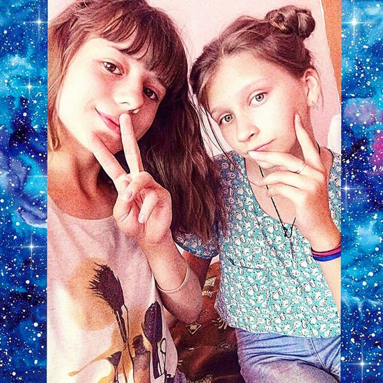 Two People Child Togetherness Childhood Girls Bonding Family Fun Friendship Real People Females People Indoors  Standing Daughter Cheerful Love Lifestyles Children Only Smiling Подруженька подружка😆 😘Loveyou Подруги😊😊😊Люблю💜💜 подруга_моя_любимая
