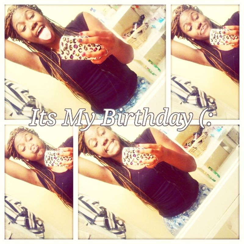Her cussin on here (: