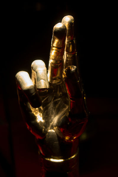 Art Black Background Close-up Hand Indoors  Mistery No People Sculpture