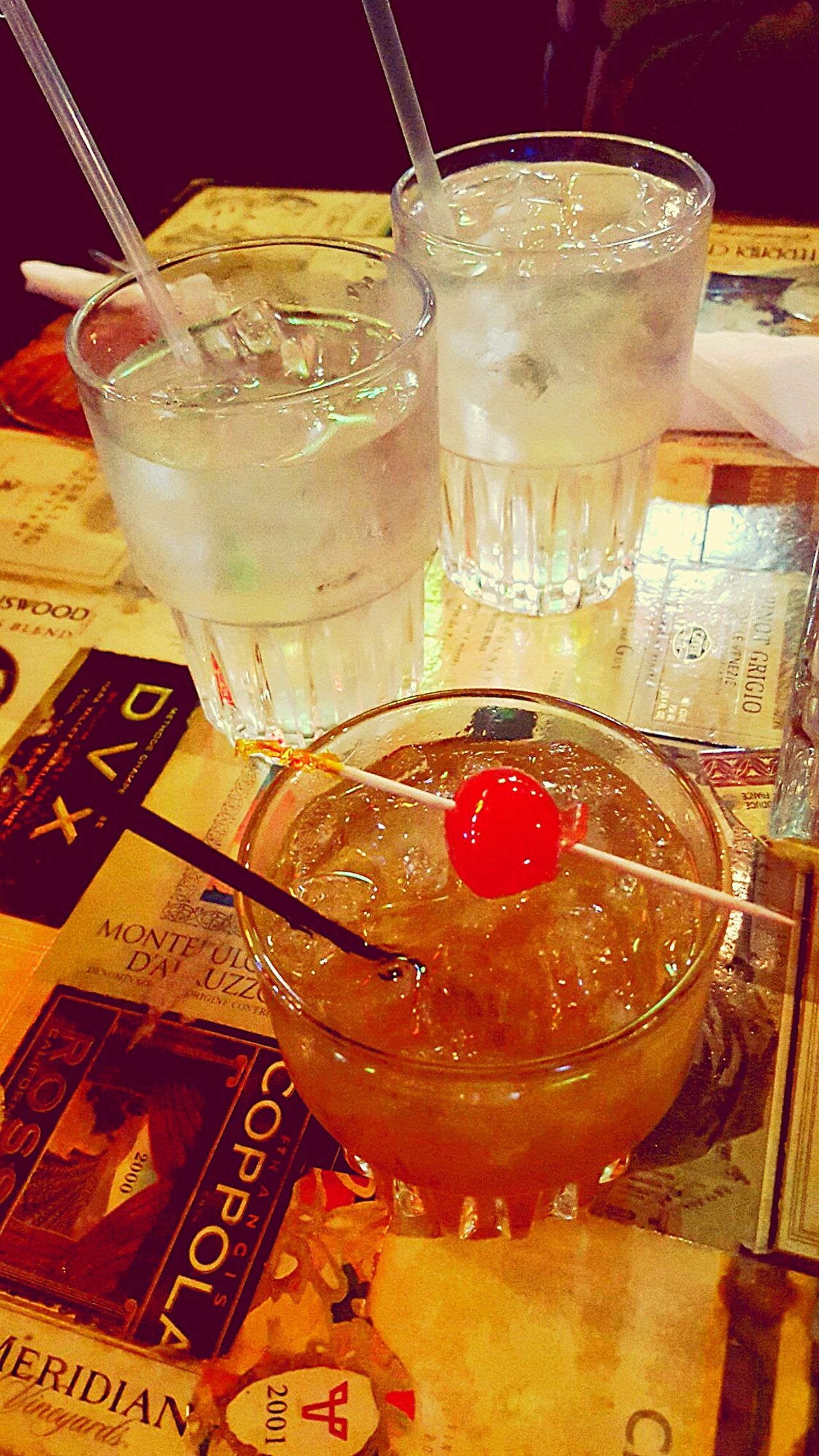 Amaretto Sours, a Beginner's Favorite Cocktails Drink Great Atmosphere Old Fashioned First Eyeem Photo