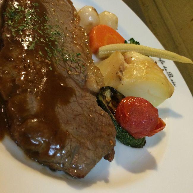 Steaks Kobebeef Lunch Bistrotcafedeparis