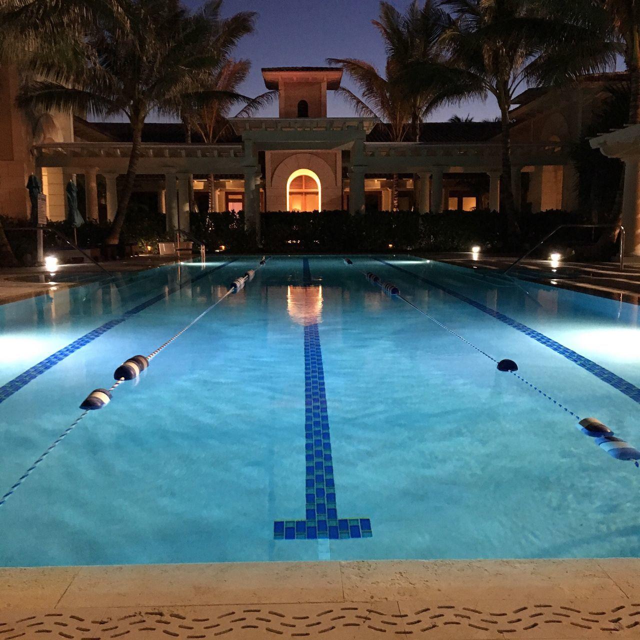 Breakers Hotel Pool Lap Pool Pool At Night Palm Beach Life