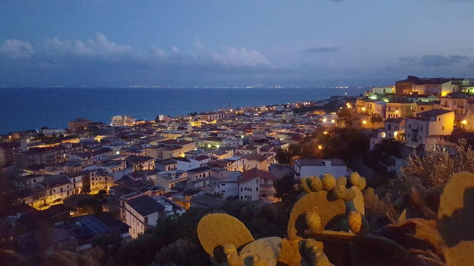 Sea View Sea Landscape Landscape_Collection Landscape_photography Trebisacce Calabria Calabria (Italy) Nightphotography Night Night Lights Night Photography