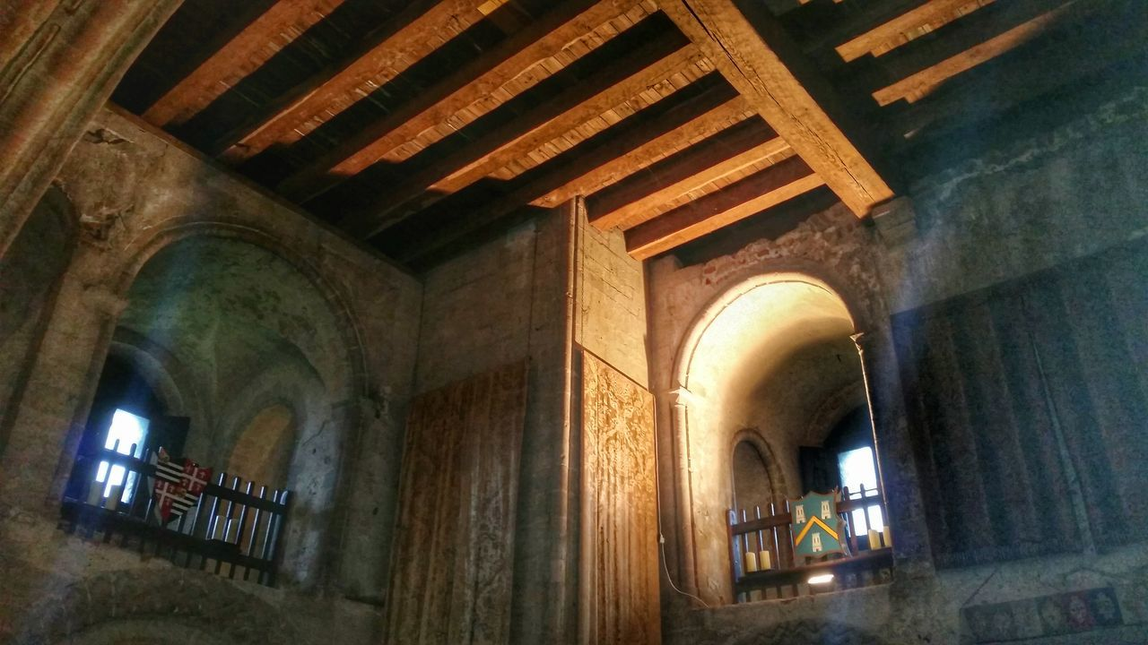 Arch Arches Light And Shadow Architectural Detail Castle Wooden Beams Timber Beam Beams Medieval Architecture