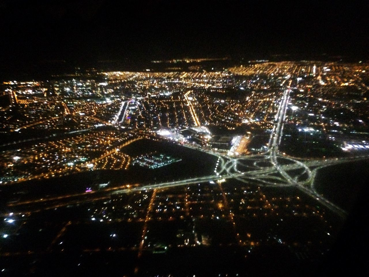 night, illuminated, city, cityscape, no people, aerial view, architecture, outdoors, building exterior, sky