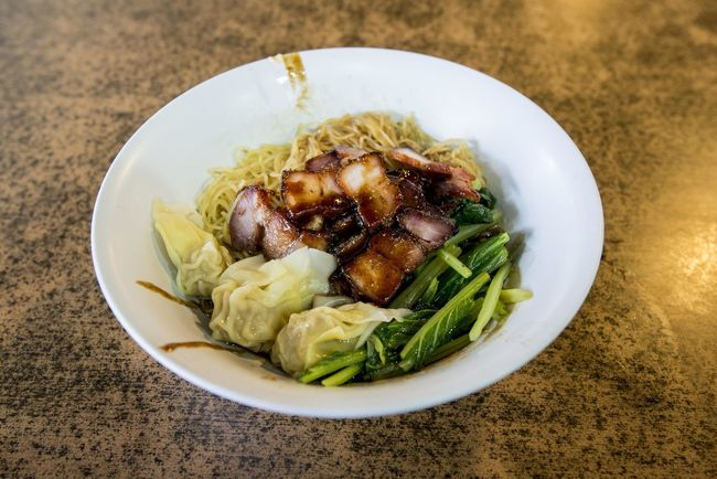 Bowl Char Siew Charsiew Close-up Food Food And Drink High Angle View Indoors  Indulgence Meal Noodles Plate Ready-to-eat Serving Size Still Life Table Vegetable Wanton Wanton Mee