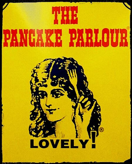 Lovely LOVELY ! The Pancake Parlour Sign Pancakes Check This Out LOVELY ! ® Shrove Tuesday Shrovetuesday Adelaide