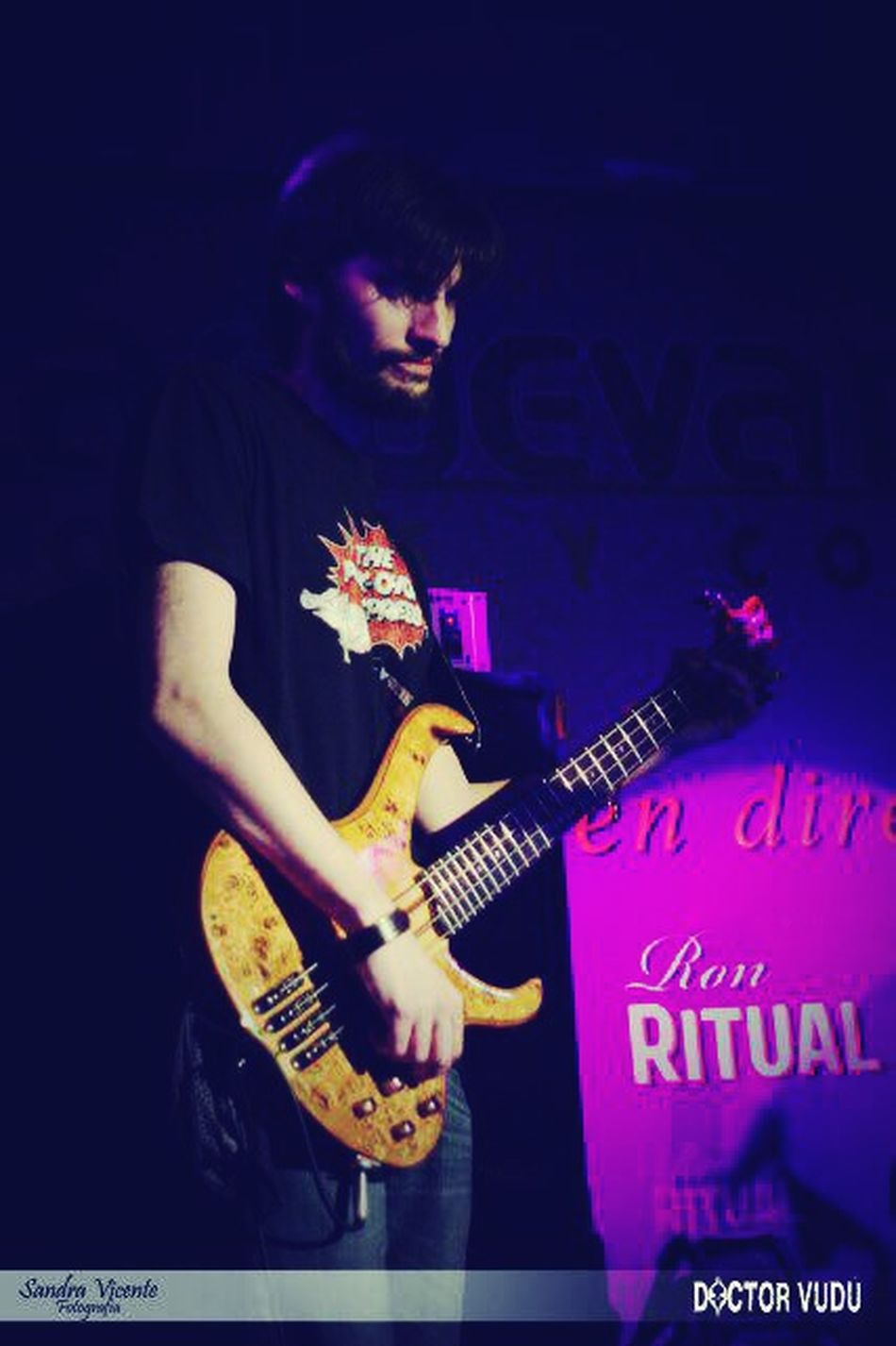 Bass Guitar Live Music My Life Nightcall