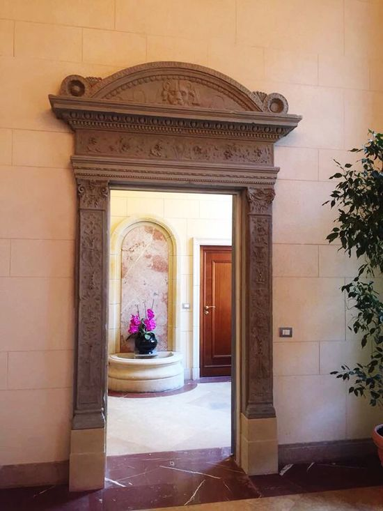 Architecture Arch No People Indoors  Entrance Building Interior Building And Nature Perspective From My Point Of View Italianstyle