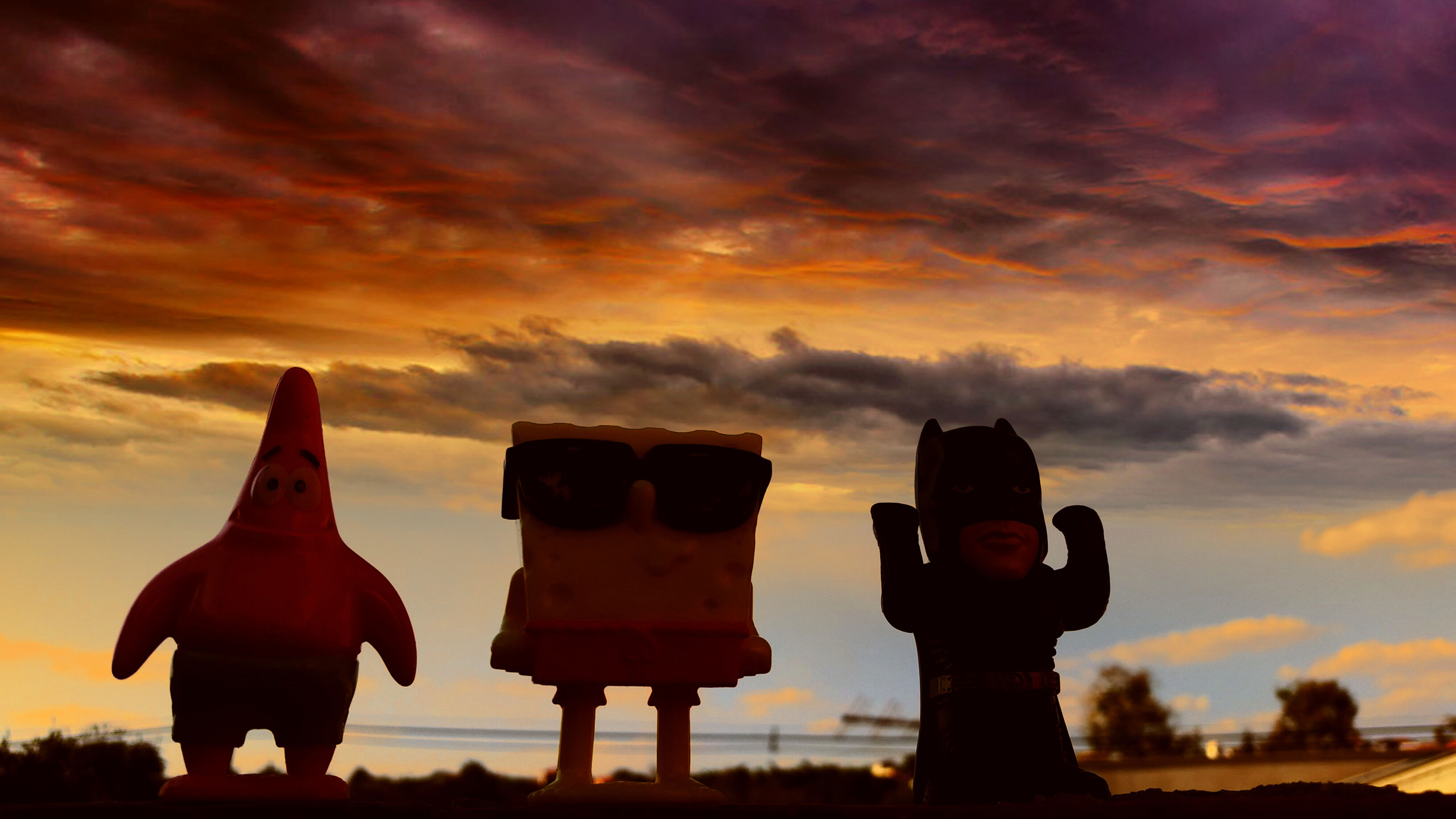 sky, sunset, cloud - sky, silhouette, orange color, cloudy, cloud, standing, lifestyles, men, scenics, beauty in nature, leisure activity, tranquility, dramatic sky, rear view, weather, dusk