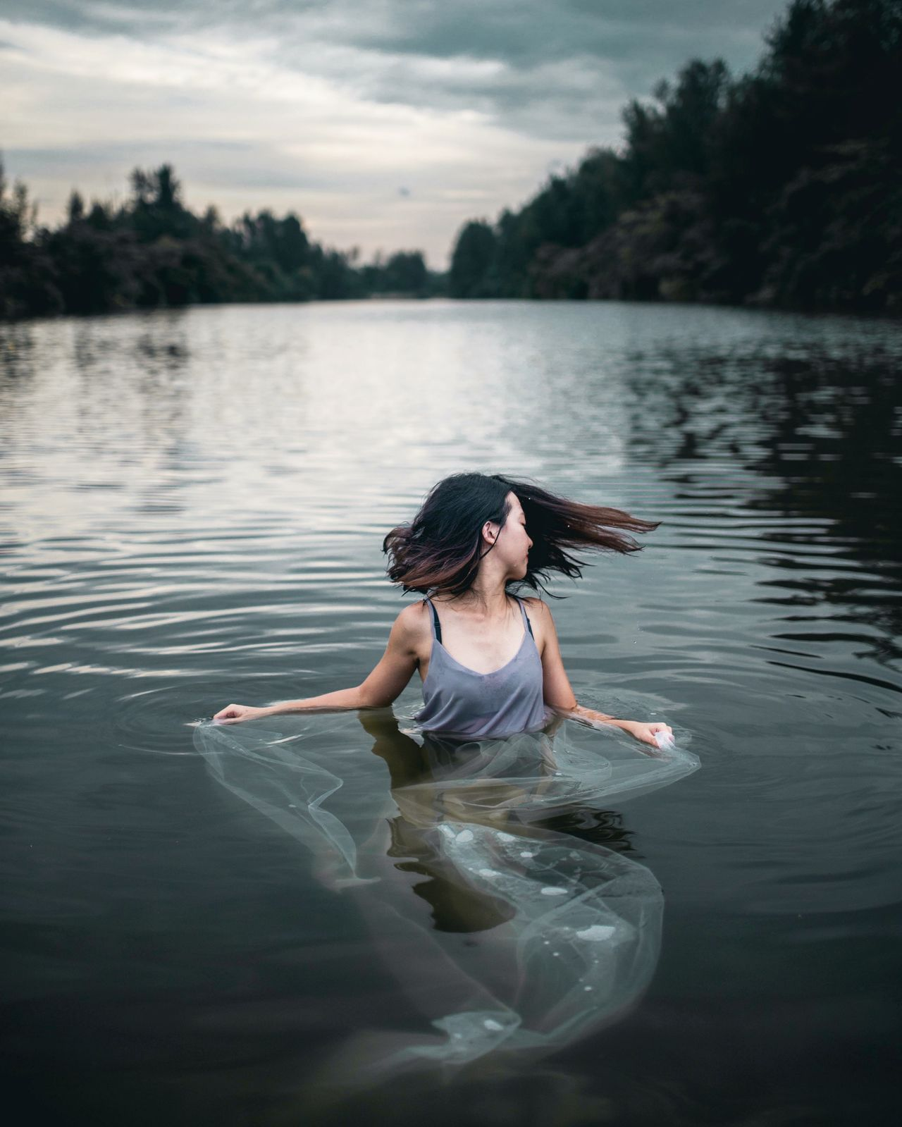 genie in the water Portrait Photography Portrait Of A Woman Portrait Of A Girl Portrait Landscape_Collection Landscape Landscape_photography Landscapes EyeEm Best Edits EyeEm Best Shots Eye4photography  Fine Art Photography Surreal Surrealism Reflection Reflection_collection Water Reflections Water_collection Faces Of EyeEm Natural Light Portrait Women Of EyeEm Women Nature Photography Welcome To Black The Portraitist - 2017 EyeEm Awards