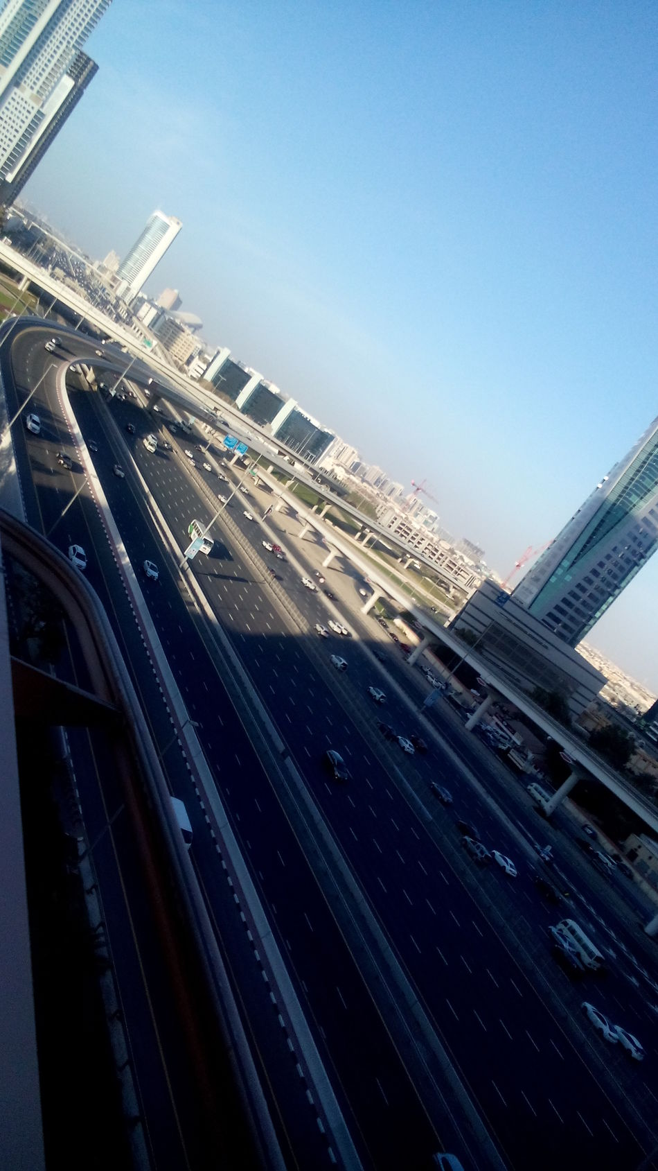 Dubai High Angle View High Section Point Of View Tecom UAE View View From Above