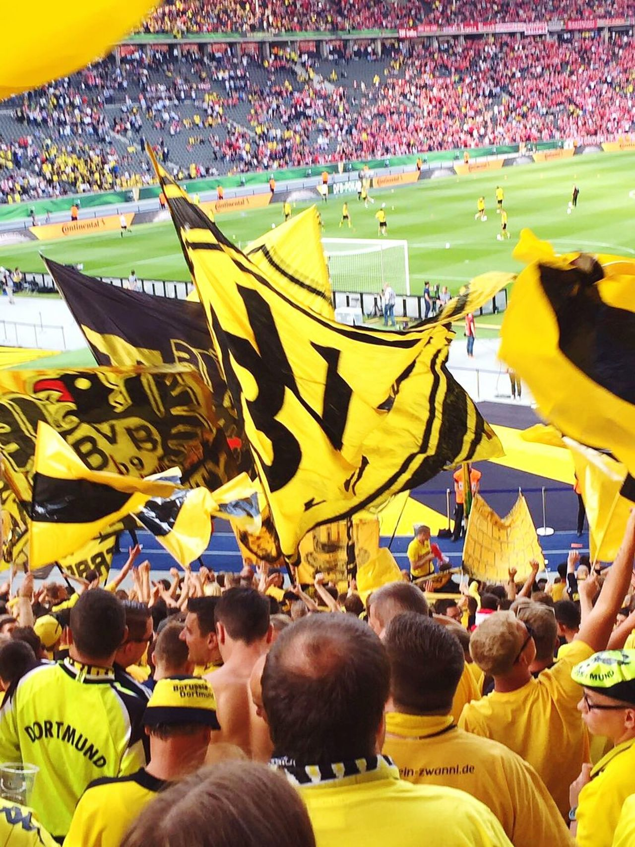 Crowd Large Group Of People Stadium Outdoors People Adults Only Adult Day Pyrotechnics Togetherness Stadium Stadium Atmosphere Borussia Dortmund Human Body Part Adult Cheering Performance Spectator Fun Fan - Enthusiast Consumerism Large Group Of Objects Arrangement