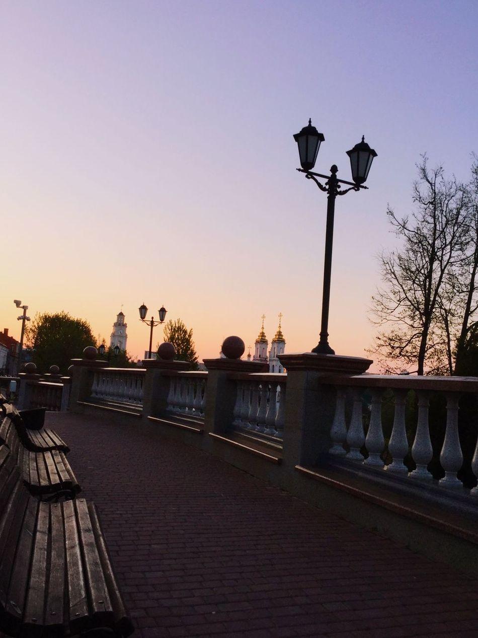рассвет Relaxing Hello World Hi! Пять утра путешествия Витебск