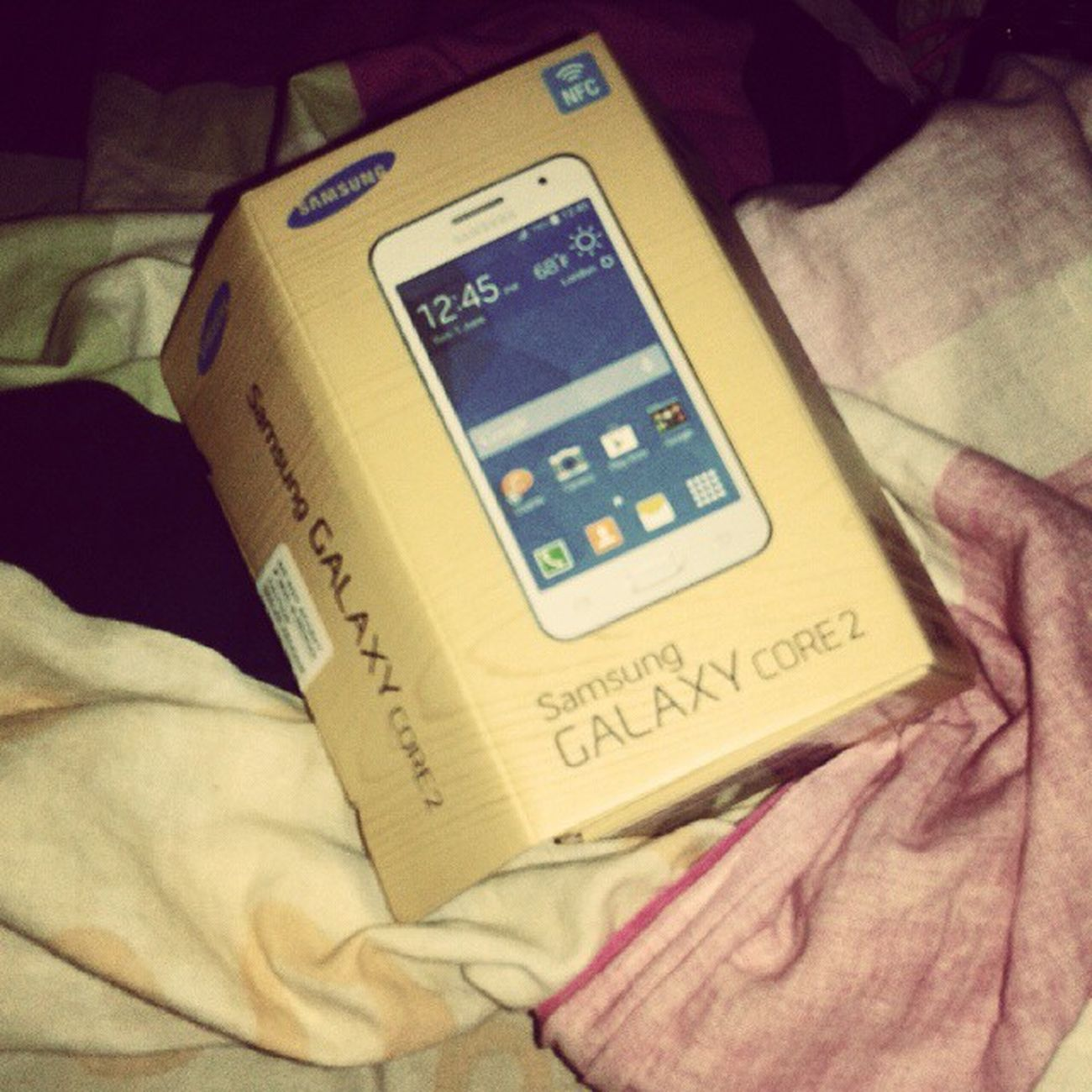 It's been 2 months....♡☆ Samsunggalaxycore Bdaypresent