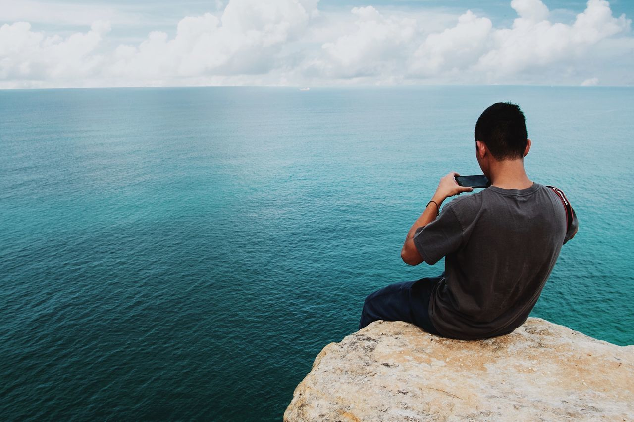 Beautiful stock photos of ocean, water, leisure activity, tranquil scene, sea