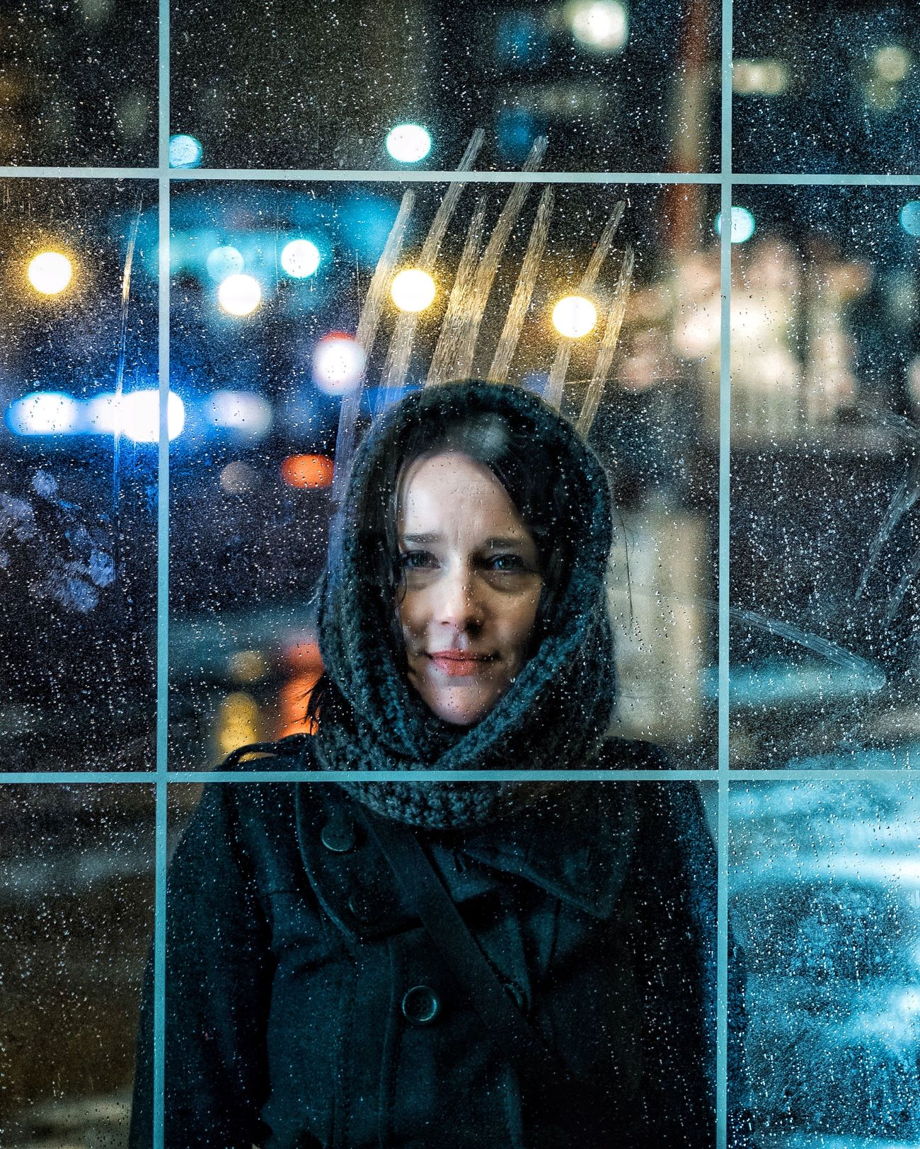 Portrait Winter Cold Temperature Light Colors EyeEm Best Shots Light Dark Bokeh Photography Fashion Abstract Rain Raindrops Women Who Inspire You Portrait Of A Woman The Week On EyeEm
