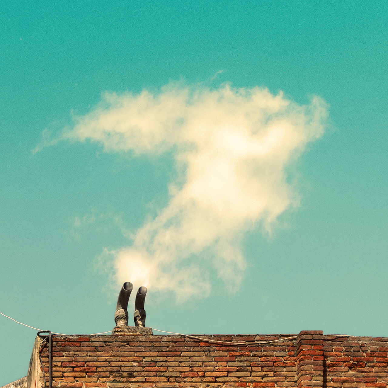 Beautiful stock photos of smoke, Air Pollution, Architecture, Brick Wall, Building