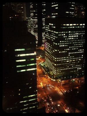 Night Lights at ラトゥール新宿 (La Tour Shinjuku) by U-co. Int.